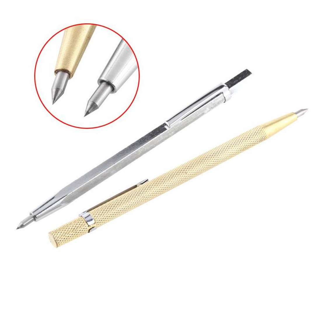 Diamond  Lettering Pen Glass Knife Scriber Cutting Tool Glass Cutter Carbide Scriber Hard Metal Tile Cutting Machine