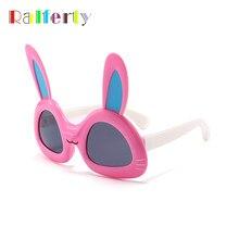 f2a7da6b96 Ralferty niños fiesta gafas de sol linda chica de conejo de dibujos  animados gafas de sol UV400 polarizado Flexible gafas de niñ.