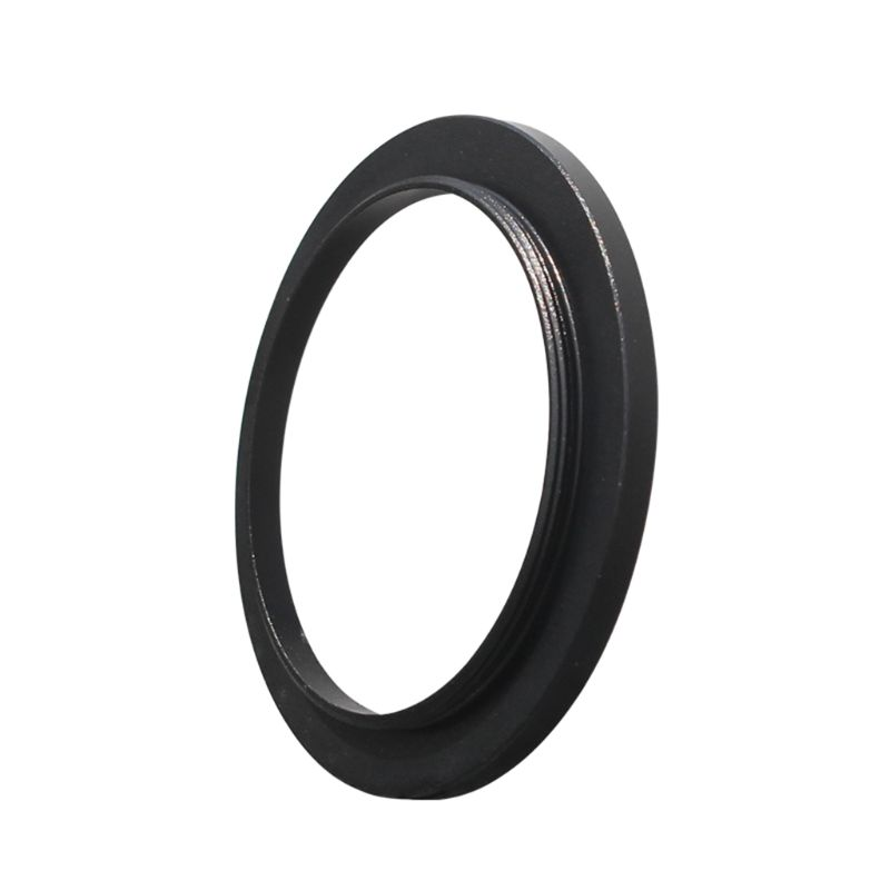 Newest 1pcs Black Durable Aluminum Alloy <font><b>M48</b></font> to M42 Coupling <font><b>Adapter</b></font> Ring for Stereo Microscope Eyepiece Filter Accessories image