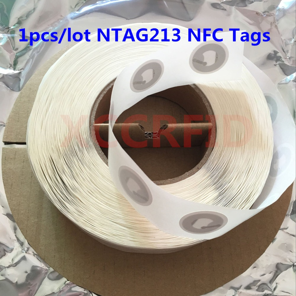 NTAG213 NFC Forum Type 2 Tag Smart NFC Tags Stickers Card For NFC Mobile Phones 10pcs image