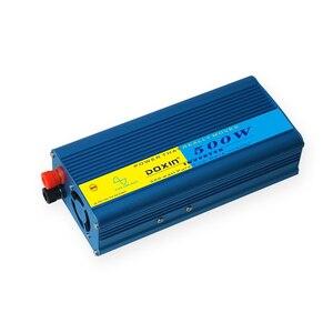Image 3 - Universale 500 W Car Inverter Portatile 12 V a 220 V Inverter di Potenza 12 v 220 v Inverter di Potenza del Convertitore caricatore di alimentazione USB