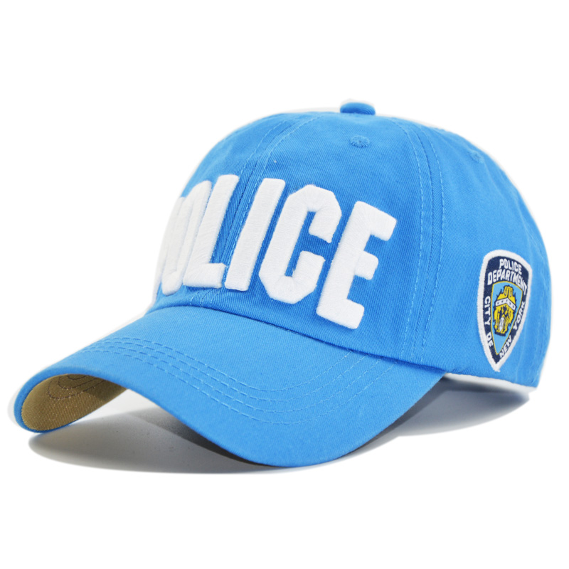 Kids Cap POLICE Cotton Baseball Caps for Boys and Girls ...