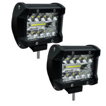 1pair car working font b lamp b font led 6000lm light 12v 24V auto driving font