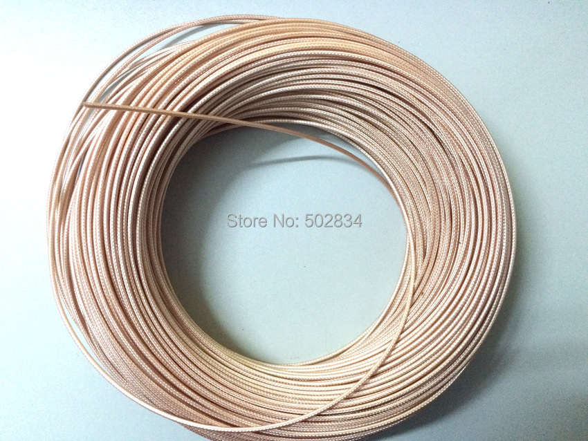 50m RG178 RG 178 RF Coaxial cable Adapter Connector Coax Cable
