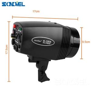 Image 5 - Godox K150A 300Ws 300W 2*150Ws Studio Strobe Room Photo Studio Photography Lighting with Softbox DC 04 flash Trigger Kit