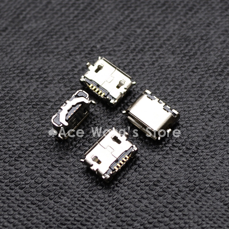 10pcs Micro USB Jack Connector Female 5 pin Charging Socket For Mobile phone MP3 MP4 PDA 10pcs lot micro usb connector jack