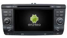S190 FOR SKODA Octavia 2004 2011 Android Car Dvd Navi Player audio multimedia auto stereo wifi