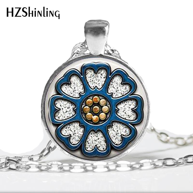 HZ--A466 nuevo Pai Sho collar Avatar el último maestro aire colgante de joyería colgante de cúpula de vidrio collar HZ1