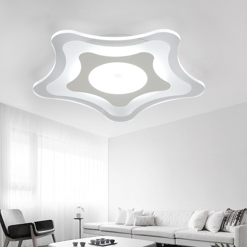 Led Starfish Childrens Room Lighting Child Ceiling Lamp Baby Ceiling Lamps And Boys And Girls Bedroom Lamps Latest Fashion Ceiling Lights & Fans