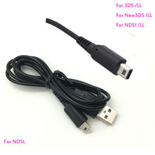 Voor Nintendo Nieuwe 3DS 2DS Ndsi Xl Ll Oplaadkabel Cord Usb Charge Cable Koord Voor Ndsl(China)