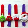 8Pcs/Lot The new Santa Claus Christmas pat circle wrist dance props Children's Toys Decorative toys