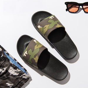 Image 4 - ASIFN Men Slippers Casual Slides Male Non slip Indoor Outdoor Summer Beach Flip Flops Camouflage Sandals 4 Colors Zapatos Hombre