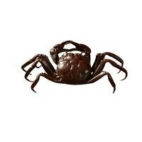 Чистая медь Краб оригинальность Изысканный античная бронза поднос для чая Коврики Металл Краб чай pet Кунг Фу pet мини набор для чая