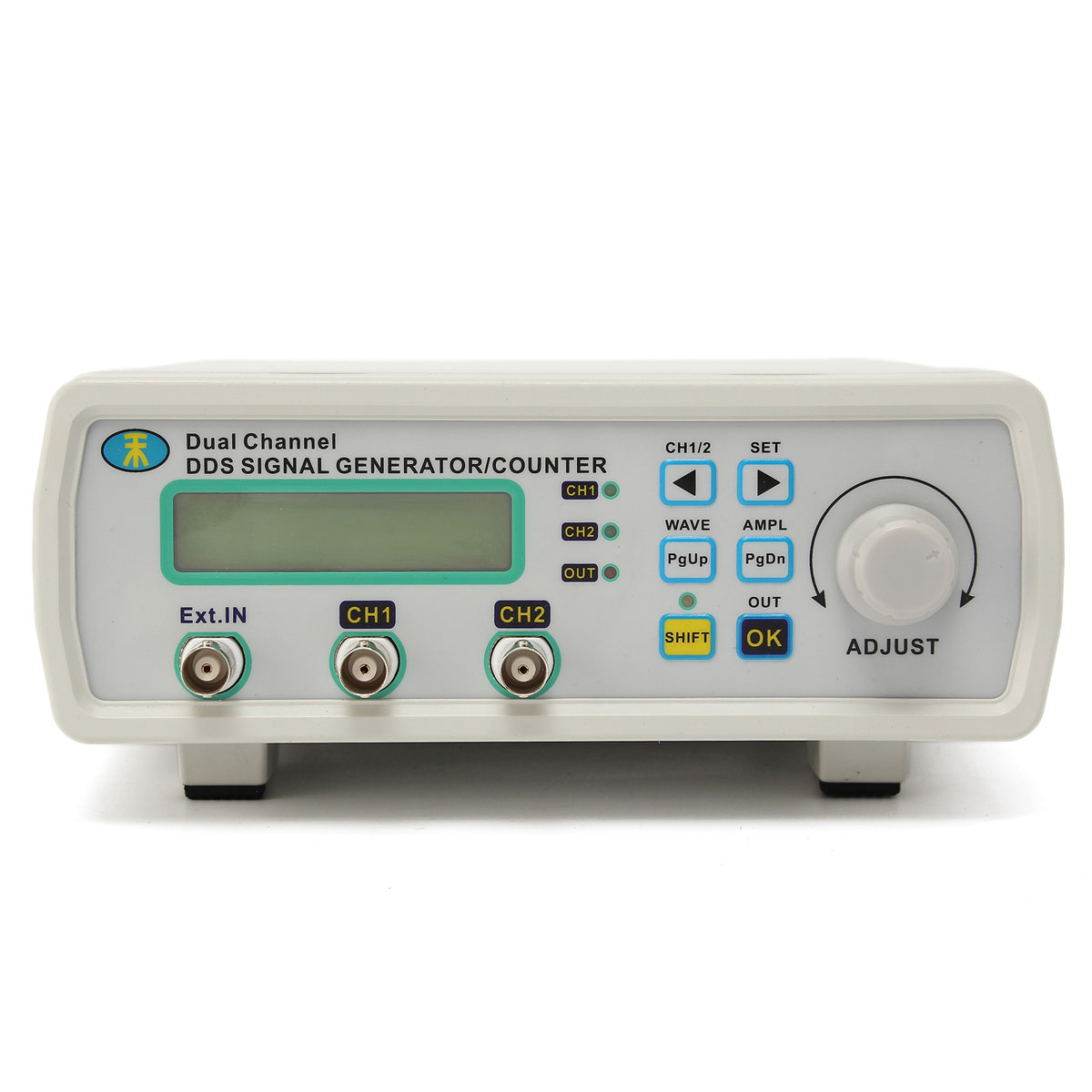 Digital DDS Dual-channel Signal MHS-5200A Source Generator Arbitrary Waveform Frequency Meter 25MHz mhs 5212p power high precision digital dual channel dds signal generator arbitrary waveform generator 6mhz amplifier 80khz