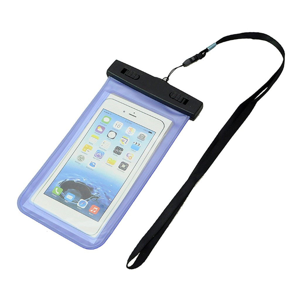 Sports & Entertainment ... Sports Bags ... 32631481447 ... 2 ... Phone Waterproof Bag Case Pouch Dust Proof Underwater Pack Cover Case For Phone Travel Running Swimming Pouch ...