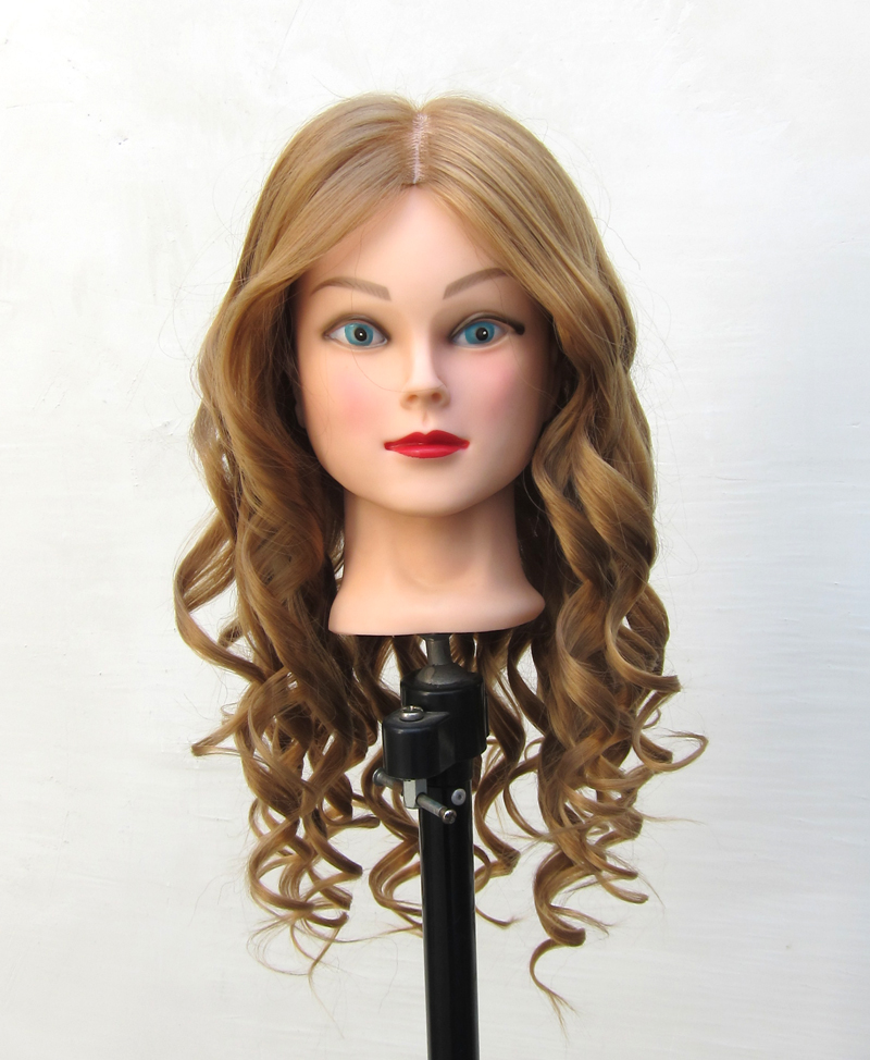 human hair styling 90 human hair mannequin hairdressing practice 3100