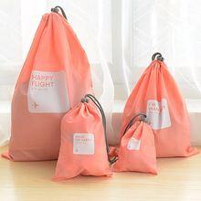 Водонепроницаемые дорожные сумки для хранения 4 шт/лот дорожный