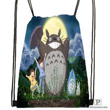 Custom Drawstring Backpack Drawstring Backpack Bag Cute Daypack Kids Satchel (Black Back) 31x40cm#180611-01-04