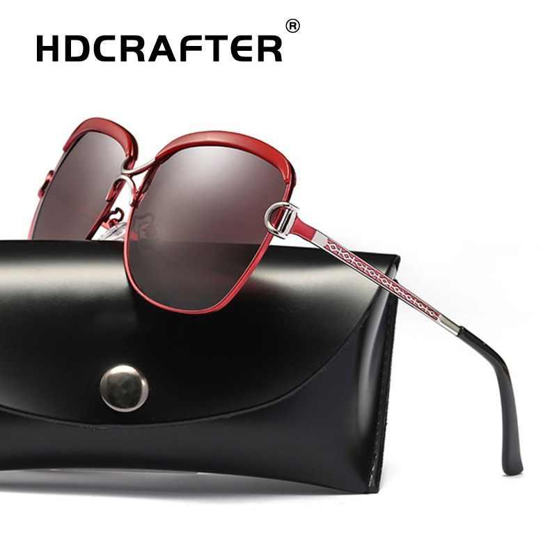 8f74169e9313 Fashion Sunglasses Women Polarized Ladies Brand Design Sun Glasses Retro  Luxury Sunglasses Mirror With box Oculos