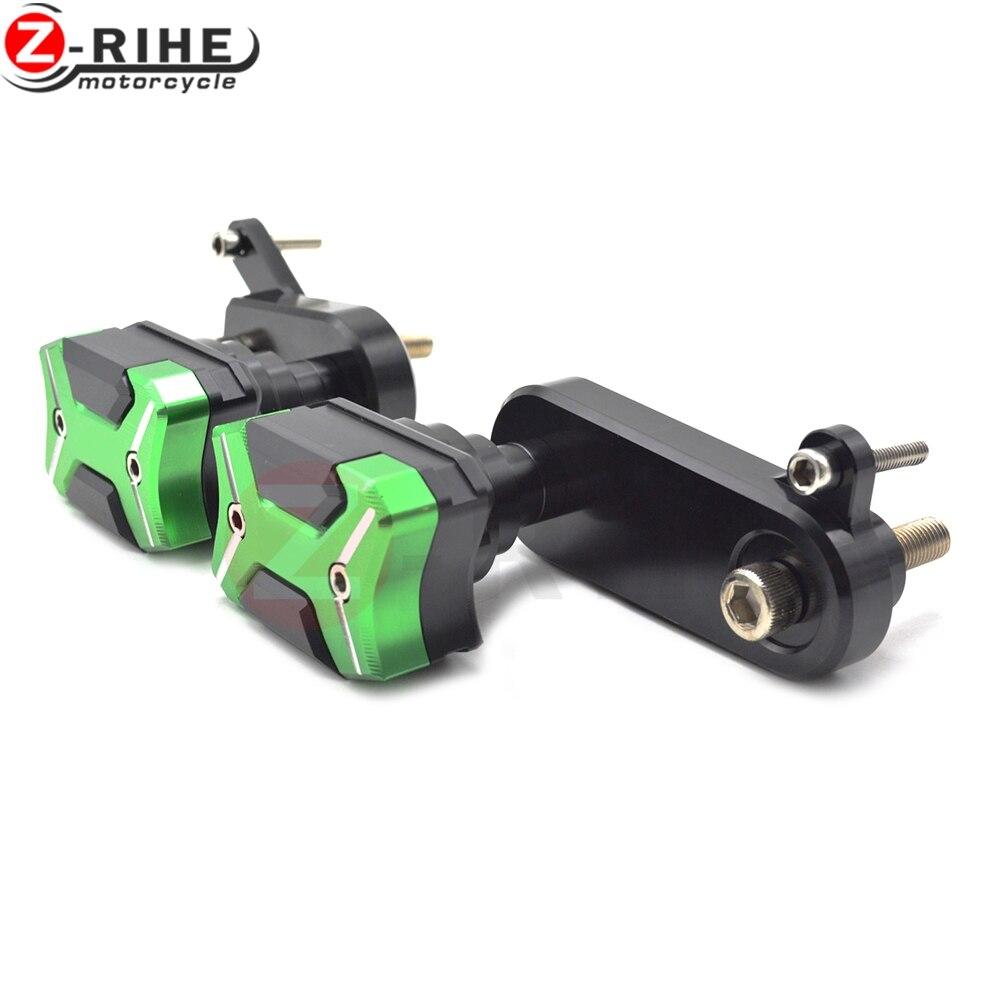 For Kawasaki Ninja ZX6R/636 2009-2012 Motorcycle accessories Frame Crash Pads Engine Engine Cover Frame Sliders Crash Protector