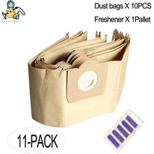 Replacement Karcher dust bags for vacuum cleaner WD3 WD3200 WD3300 MV3 A2204 SE4001 6.904-051 6.959-130 parts