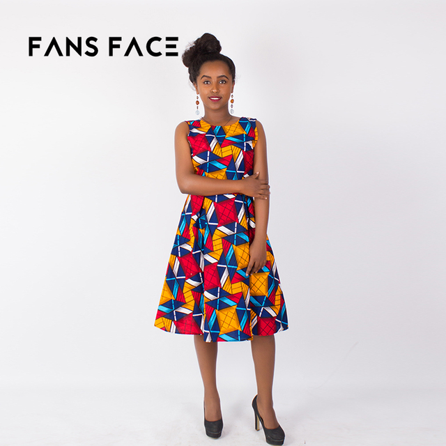 0b3fd0aebeb FANS FACE 2018 African dresses for women