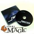Twizted con tarjeta truco por Eric Jones/calle de cerca tarjeta de truco de magia/Envío Libre al por mayor