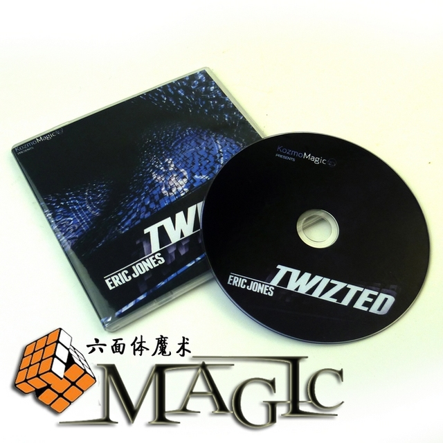 Twizted with gimmick card by Eric Jones / close-up street card magic trick / wholesale  Free shipping