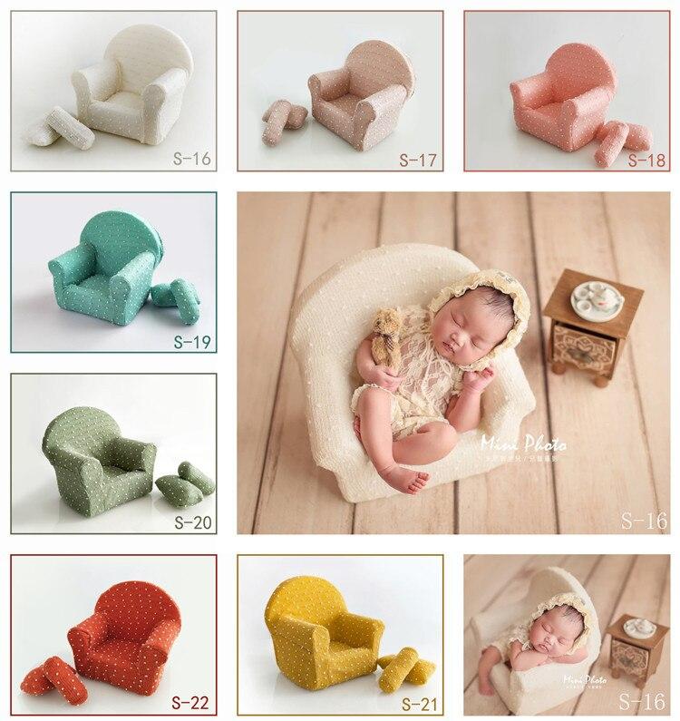 Accessoires de photographie pour enfants, nouveau-nés, accessoires Baitian Yinglou, accessoires photo, fond de canapé pour enfants.