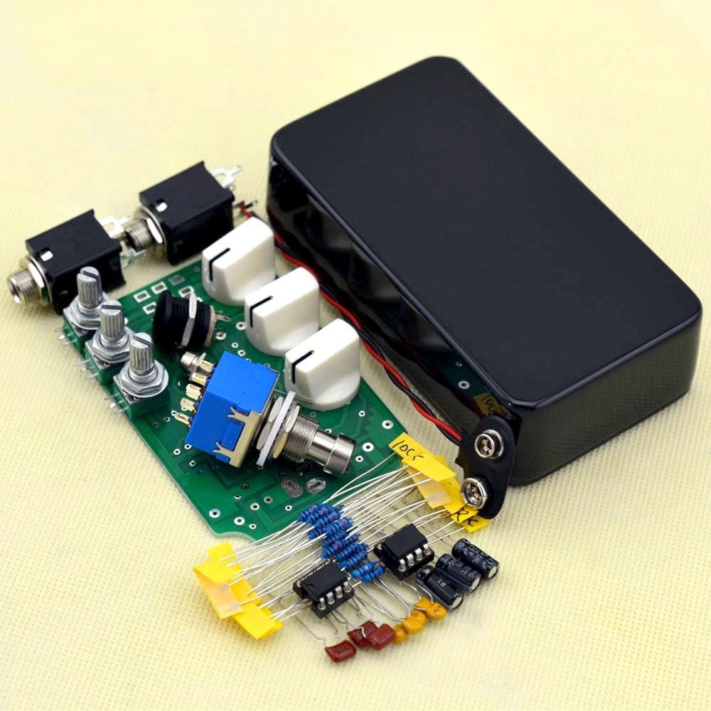 DIY 오버 드라이브 기타 이펙트 페달 키트 With1590B 및 - 악기