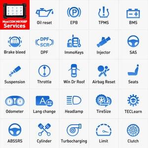 Image 4 - Автомобильный диагностический инструмент Autel MaxisCOM MK908P Pro, сканер OBD2, автомобильный программатор ECU J2534, Maxisys Pro Elite