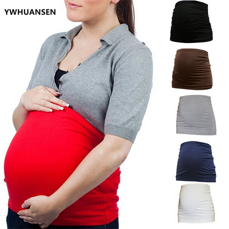 YWHUANSEN Pregnant Woman Maternity Belt Pregnancy Support Belly Bands Spuc Supports Corset Prenatal Care Shapewear Summer Girdle