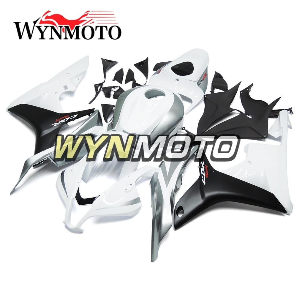 Full Fairings For Honda CBR600RR F5 2009 2012 Year ABS Injection Plastics F5 09 10 11 12 Grey White Body Kits Sportbike Cowling