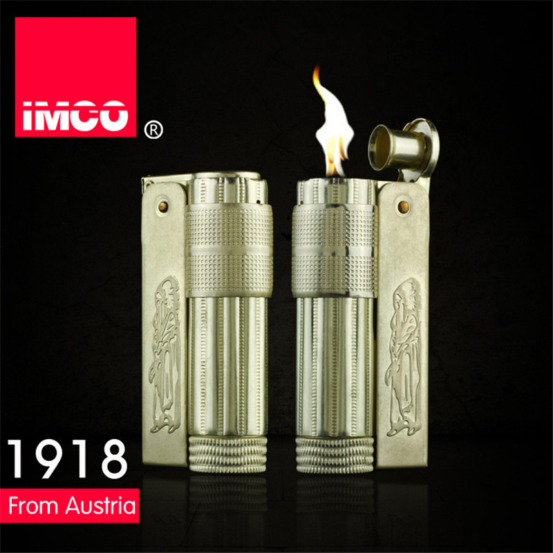 Image 5 - Classical Genuine IMCO Petrol Lighter General Lighter Original Copper Oil Gasoline Cigarette Gas Lighter Cigar Fire Pure Copper-in Cigarette Accessories from Home & Garden