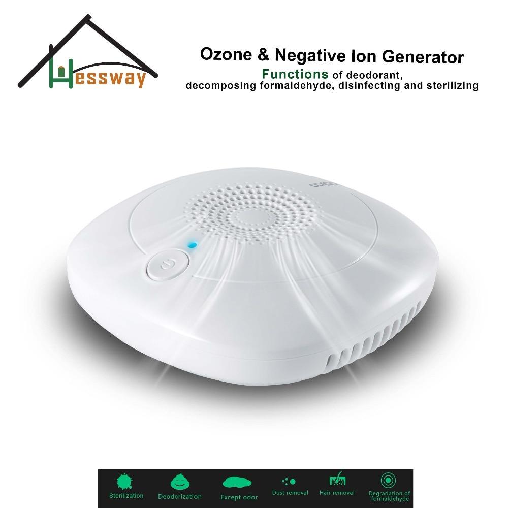 цена на EU Plug portable ceramic ozone generator negative ion air purifying deodorizer for Room, study, pet room, toilet