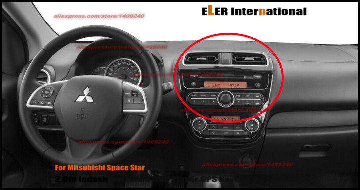 mitsubishi space star radio auto bild idee. Black Bedroom Furniture Sets. Home Design Ideas