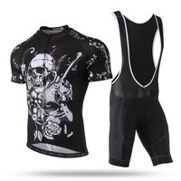 BOODUN Short Sleeve Quick Dry Cycling Jersey Set With Bib Men S Summer Pro Bike Clothes