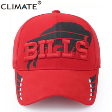CLIMATE USA National Football Bills Fans 51 Super Bowl Patriots Baseball Sport Caps New England Cotton Running Cap Hat Men Women