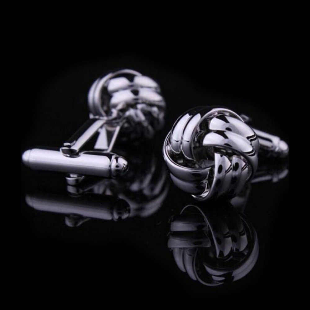 Vintage Cufflinks  Men Jewelry Laser Cuff Links Wedding Party Cufflink 2 Pcs/lot Men's Stainless Steel Silver
