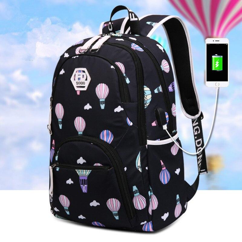 69afbe450eef FengDong kids waterproof school backpack for girls school bags cute ballon  printing laptop backpack children backpacks schoolbag - aliexpress.com -  imall. ...