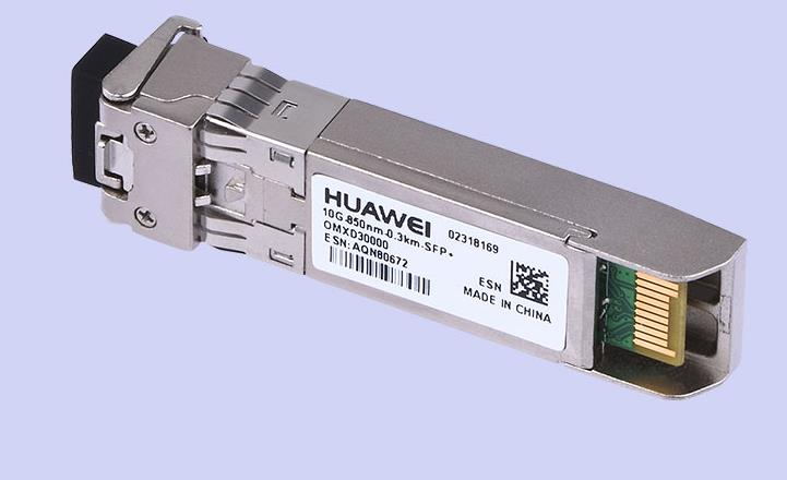 Huawei Optical Module OMXD30000 10G- 850nm -0.3km 10G Multimode SFP+10G Original 10g sfp optical fiber straight wire 5m connect 10g network card original brand new well tested working one year warranty