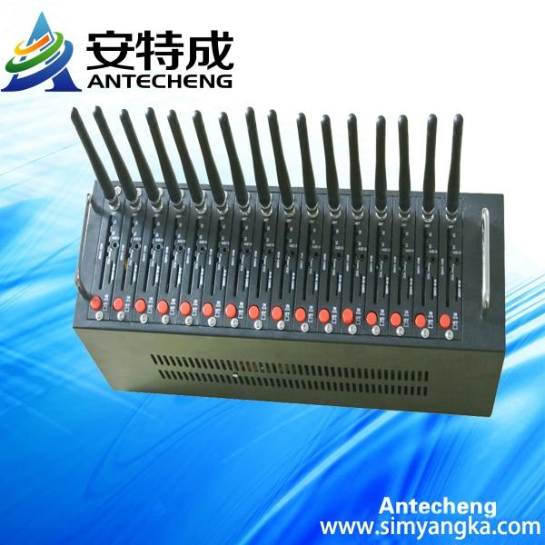 Hotsale! wavecome gsm 16 port modem pool,wavecom q2403 gsm gprs modem