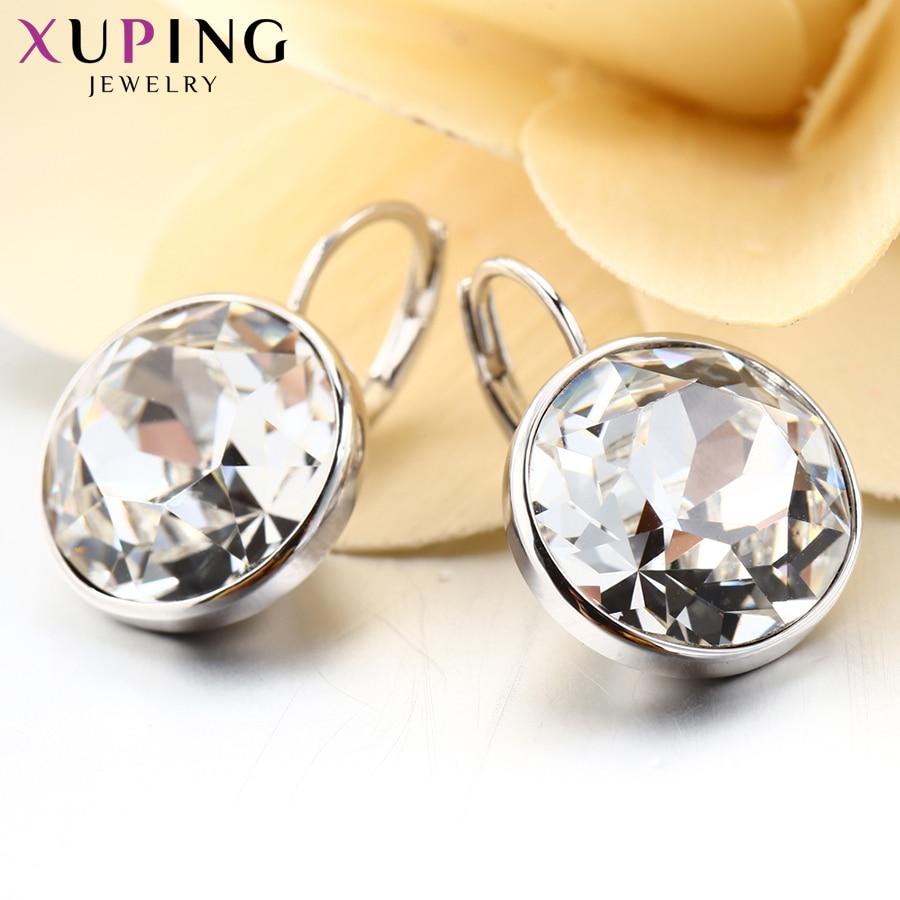 Xuping mode kristaller från Swarovski Färgglada örhängen med - Märkessmycken - Foto 5