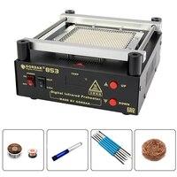 GORDAK 853 Экологическая защита неэтилированная плита предварительного нагрева платформа BGA Отопление Паяльная Станция PCB Preheat паяльная машина