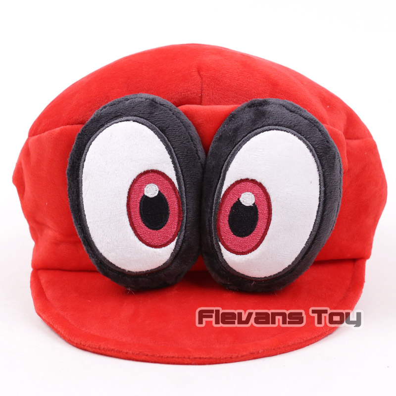 Fashion New Super Mario Bros Odyssey Cappy Cosplay Cap Hat Cotton Winter Hats Cartoon Funny Caps Discounts Sale