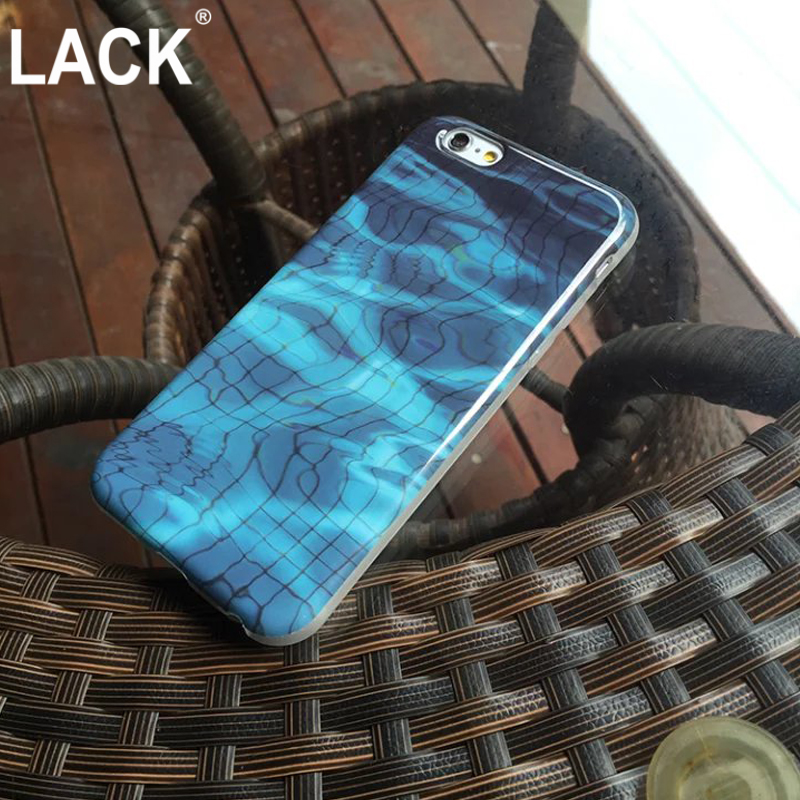 Fashion Summer Cool Case For iphone 6 Case For iphone 6S 6 Plus Phone Cases Swimming Pool Underground Water Shadow Cover Fundas