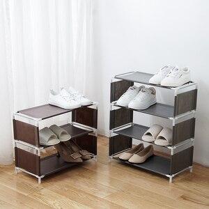 Vanzlife многофункциональная многоэтажная полка для обуви, органайзер, домашняя тканевая стойка для хранения, простая стойка для общежития, провинции