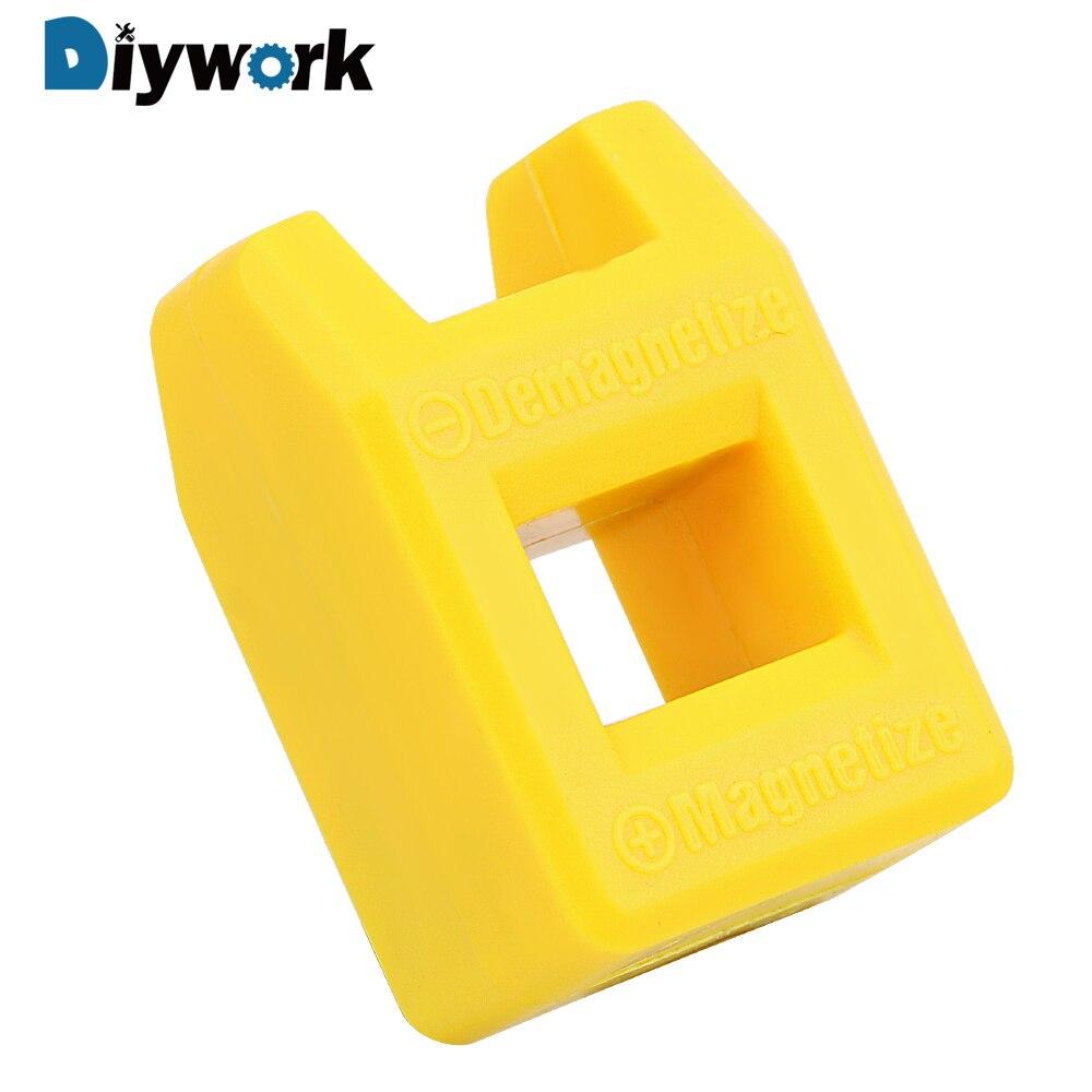 DIYWORK Mini 2 In 1 Degausser Quickly Porcelain Demagnetization Filling Screwdriver Tool Porcelain Demagnetizer Magnetizer