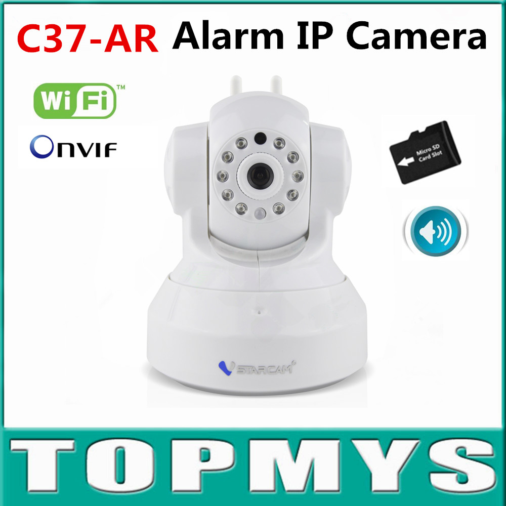 Vstarcam PT IP camera C37-AR 720P HD CCTV ip Camera IP Camera use for GAS Dector,Smoke Detector,Door Sensor,PIR Detector