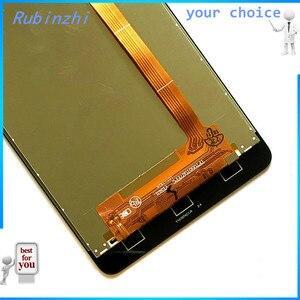 Image 5 - RUBINZHI pantalla LCD con cinta para Prestigio Grace R5 LTE PSP5552 DUO PSP 5552, montaje de pantalla táctil